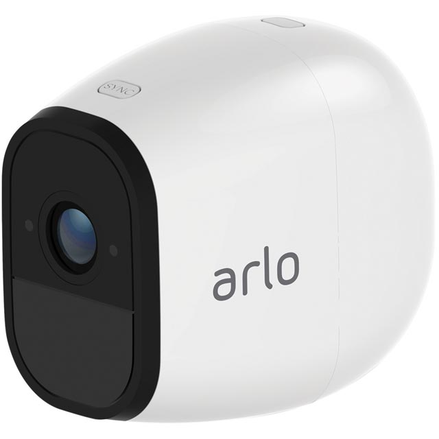 Arlo Pro Smart Weatherproof Security System with Audio - Add-On Camera - White