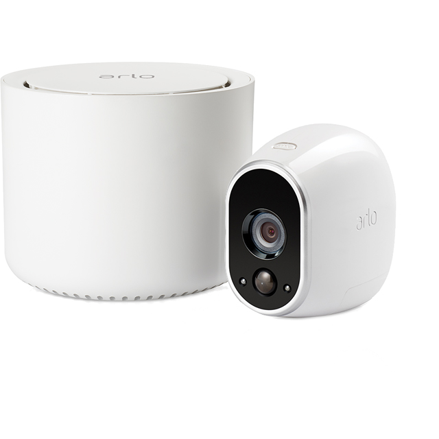 Arlo Smart Weatherproof Security System with 1 Camera - HD 720p - White - VMS3130-100EUS - 1