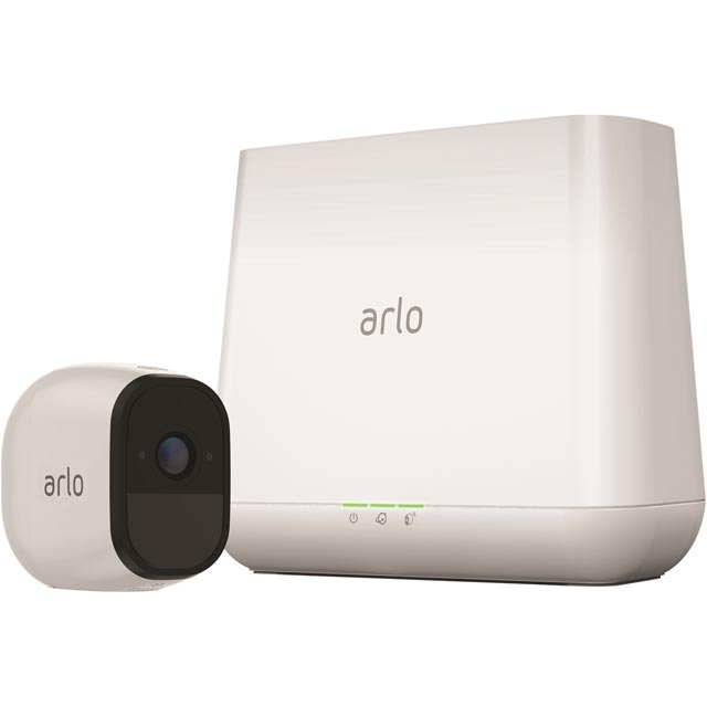 Arlo Pro VMS4130-100EUS Smart Home Security Camera in White