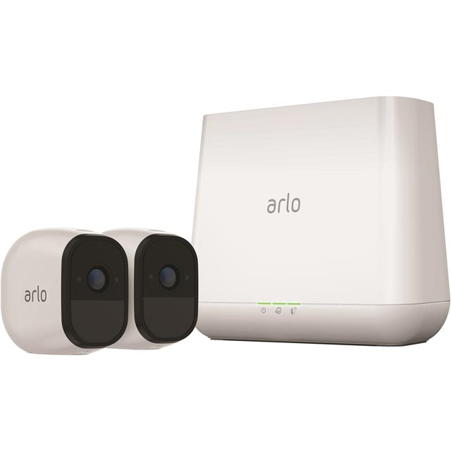 Arlo Pro VMS4230-100EUS Smart Home Security Camera in White