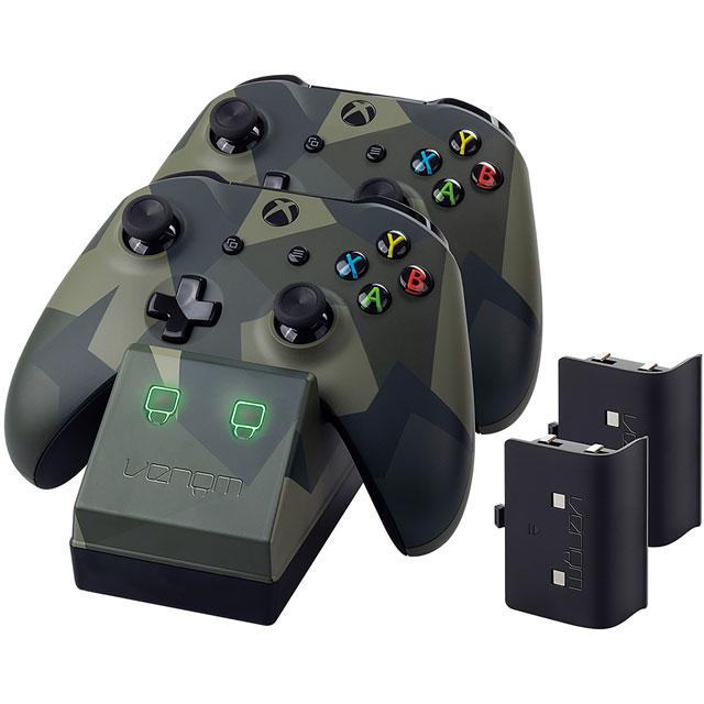 Venom Twin Docking Station For Xbox One - Camouflage