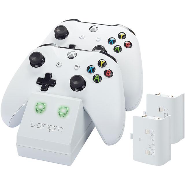 Venom Twin Docking Station For Xbox One - White