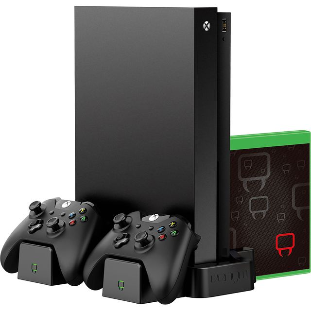 Venom Game Storage & Twin Charger For Xbox One - Black