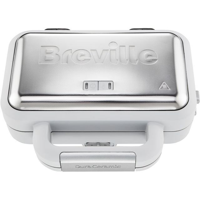 Breville DuraCeramic Deep Fill VST070 Sandwich Toaster - Grey / Stainless Steel - VST070_GY - 1