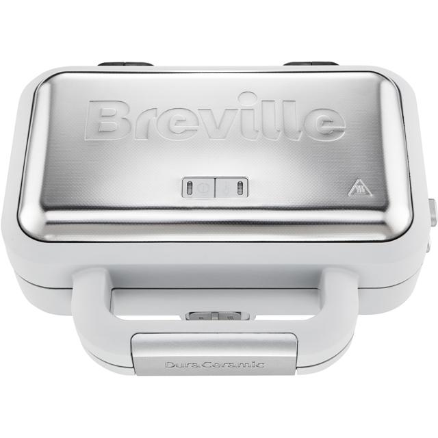 Breville DuraCeramic Deep Fill VST070 Sandwich Toaster - Grey / Stainless Steel