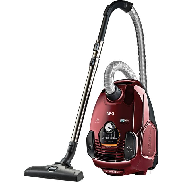 AEG Animal VX7-2-CR-A Cylinder Vacuum Cleaner - Red - VX7-2-CR-A_RD - 1