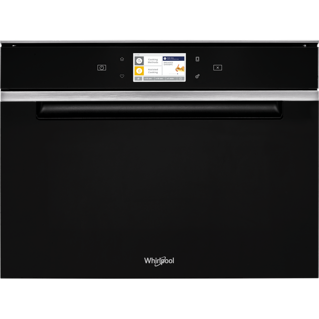 Whirlpool W Collection W11IMW161UK Wifi Connected Built In Combination Microwave Oven - Black - W11IMW161UK_BK - 1