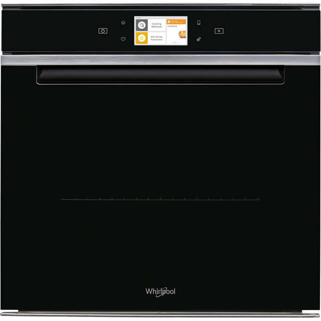 Whirlpool W Collection W11IOM14MS2H Built In Electric Single Oven - Black - A+ Rated - W11IOM14MS2H_BK - 1