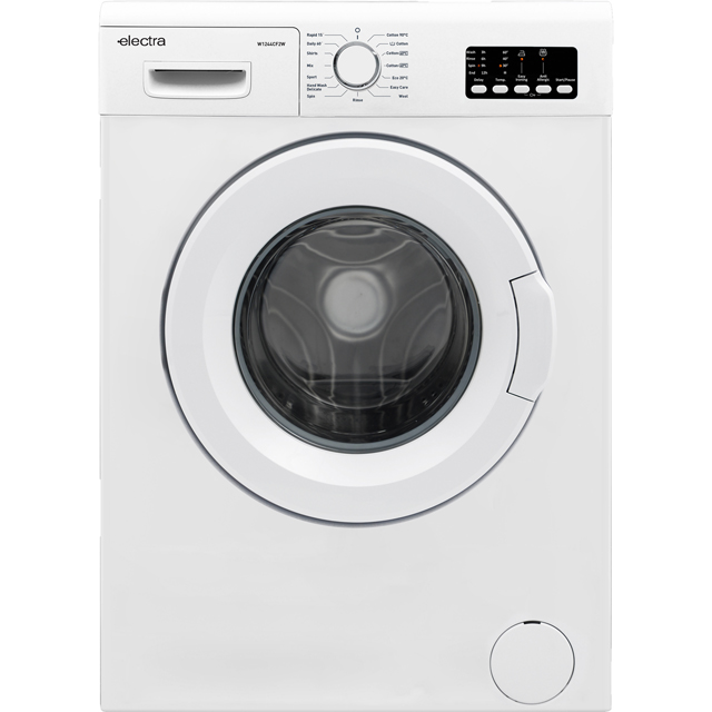 Electra W1244CF2W 6Kg Washing Machine with 1200 rpm - White - A++ Rated