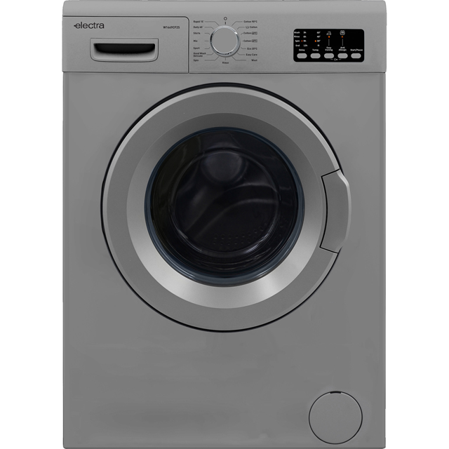 Electra W1449CF2S Free Standing Washing Machine in Silver