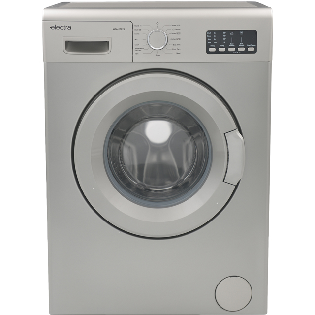Electra Free Standing Washing Machine in Silver