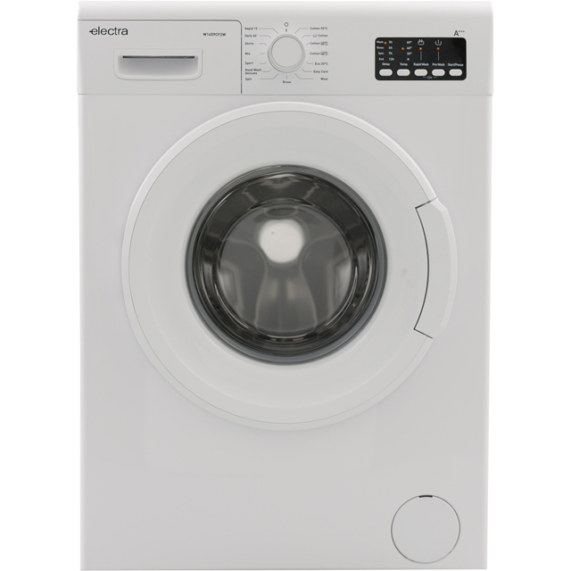 Electra W1459CF2W 9Kg Washing Machine with 1400 rpm - White - A+++ Rated - W1459CF2W_WH - 1