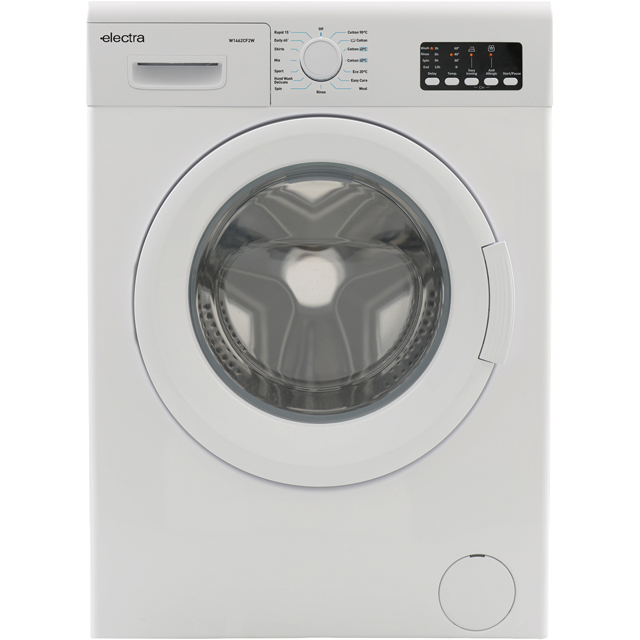 Electra W1462CF2W 10Kg Washing Machine with 1400 rpm - White - A+++ Rated - W1462CF2W_WH - 1