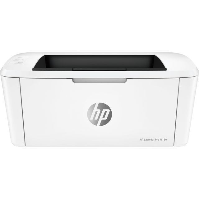 HP LaserJet Pro M15w Laser Printer - White - W2G51A#B19 - 1