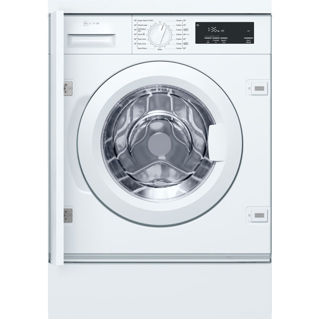 NEFF Integrated 8Kg Washing Machine - A+++ Rated