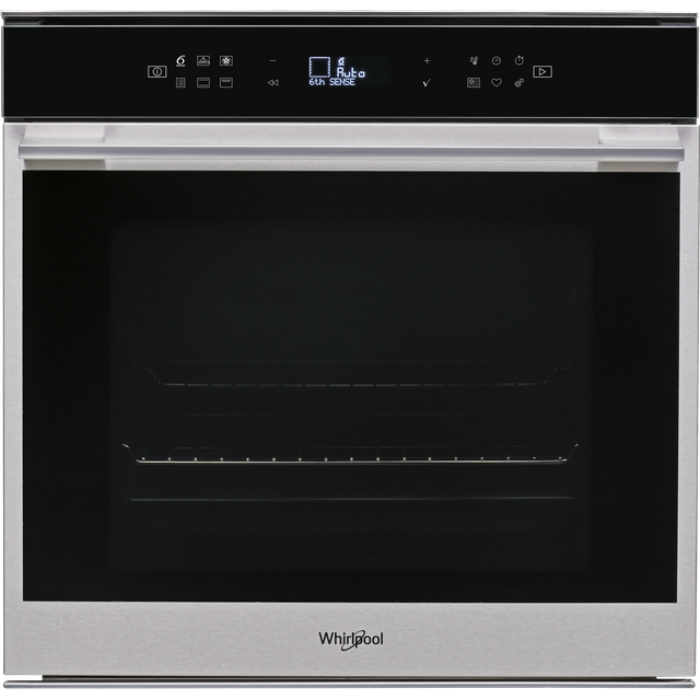 Whirlpool W Collection W7OM44BPS1P Built In Electric Single Oven - Stainless Steel - W7OM44BPS1P_SS - 1