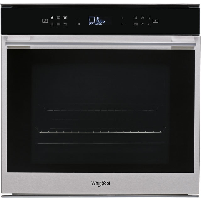 Whirlpool W Collection W7OM44S1P Built In Electric Single Oven - Stainless Steel - A+ Rated - W7OM44S1P_SS - 1