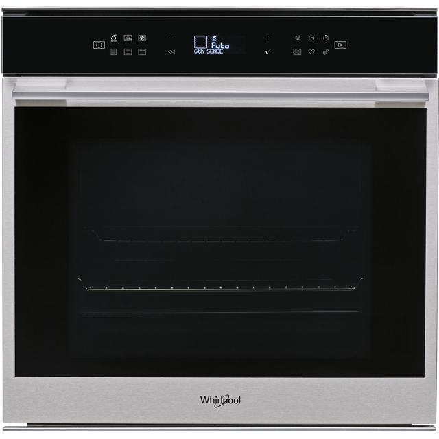 Whirlpool W Collection W7OM44S1P Built In Electric Single Oven - Stainless Steel - W7OM44S1P_SS - 1