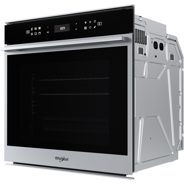 Whirlpool W Collection W7OM44S1P Built In Electric Single Oven - Stainless Steel - W7OM44S1P_SS - 2