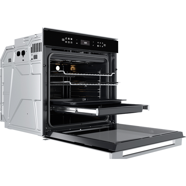 Whirlpool W Collection W7OM44S1P Built In Electric Single Oven - Stainless Steel - W7OM44S1P_SS - 4