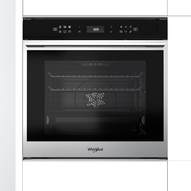 Whirlpool W Collection W7OS44S1P Built In Electric Single Oven - Stainless Steel - W7OS44S1P_SS - 2