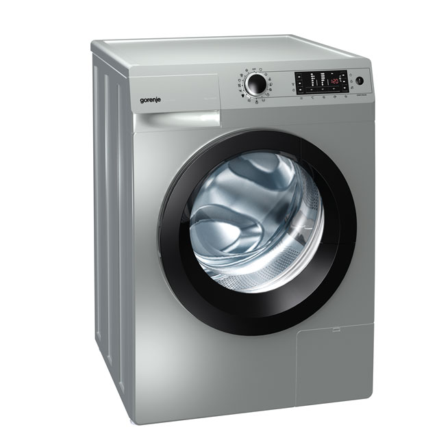 Gorenje Colour Collection W8543LA 8Kg Washing Machine with 1400 rpm - Aluminium - W8543LA_SI - 1