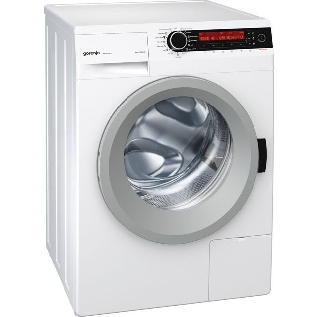 Gorenje W98F65E/IUK 9Kg Washing Machine with 1600 rpm - White - W98F65E/IUK_WH - 1