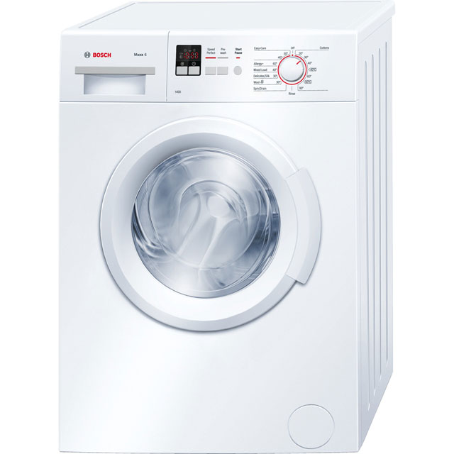 Bosch Serie 2 WAB28161GB 6Kg Washing Machine with 1400 rpm - White - A+++ Rated