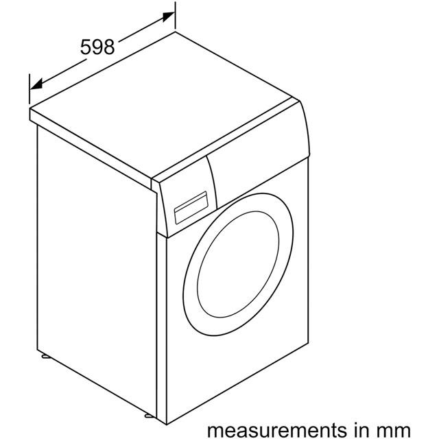 Bosch Serie 2 WAB28161GB 6Kg Washing Machine £289