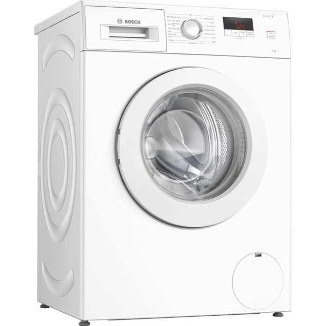 Bosch Serie 2 WAJ28008GB 7Kg Washing Machine with 1400 rpm - White - A+++ Rated