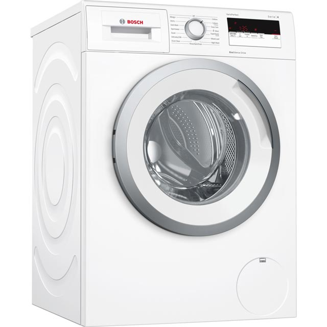 bosch serie 4 wan28050gb 7kg washing machine with 1400 rpm white a rated. Black Bedroom Furniture Sets. Home Design Ideas