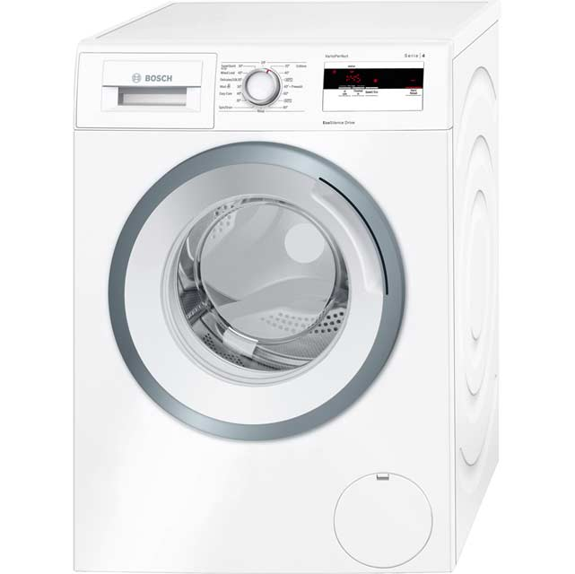bosch wan28050gb serie 4 a 7kg 1400 spin washing machine white new from ao. Black Bedroom Furniture Sets. Home Design Ideas