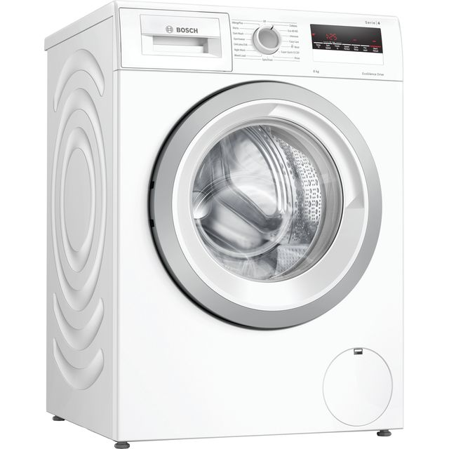Bosch Serie 4 WAN28281GB 8Kg Washing Machine - White - WAN28281GB_WH - 1