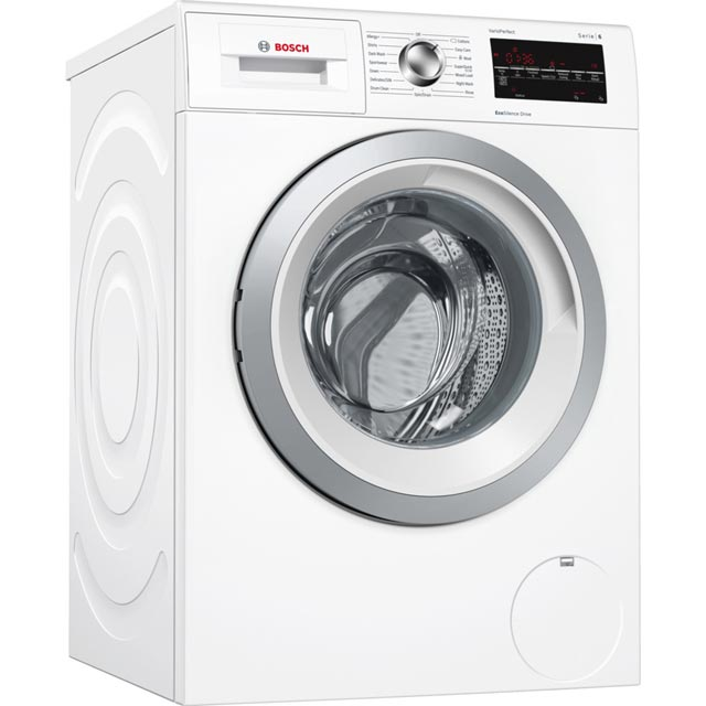 Bosch Serie 6 WAT24463GB 9Kg Washing Machine with 1200 rpm - White - A+++ Rated - WAT24463GB_WH - 1