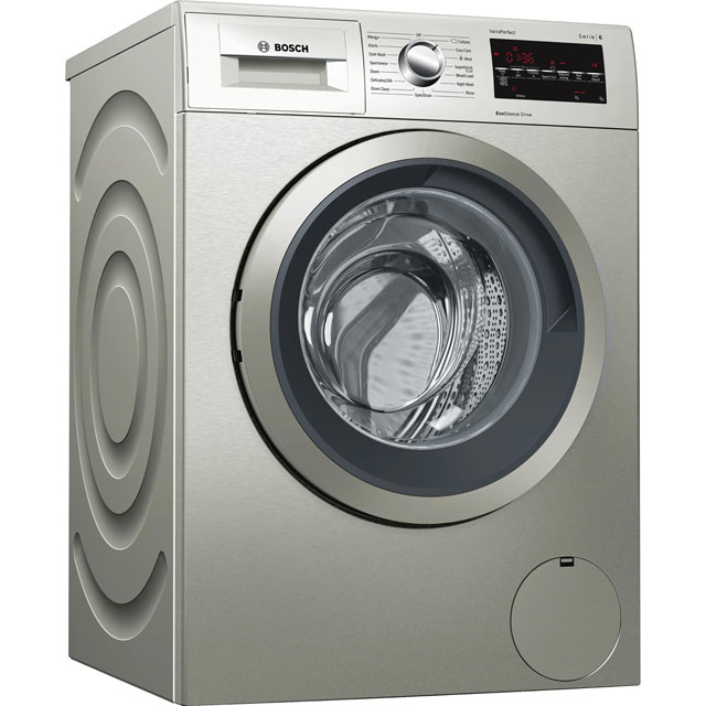 Bosch Serie 6 9Kg Washing Machine - Silver - A+++ Rated