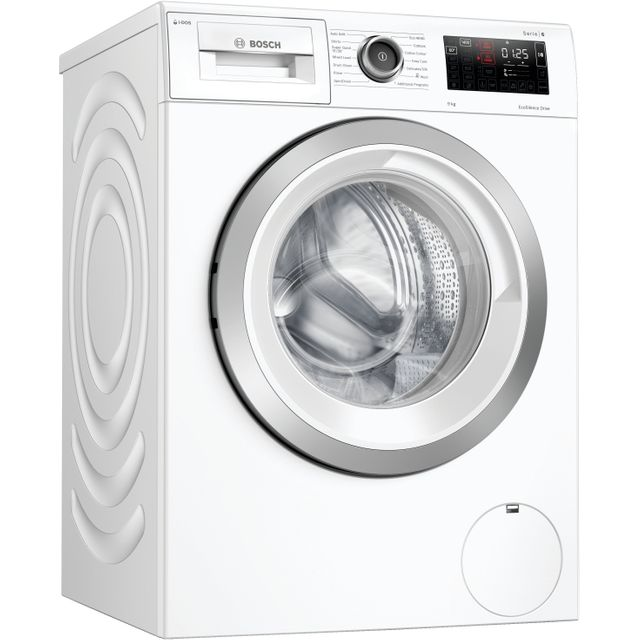 Bosch Serie 6 i-Dos™ WAU28PH9GB 9Kg Washing Machine - White - WAU28PH9GB_WH - 1