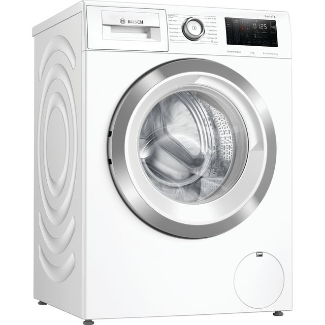 Bosch Serie 6 WAU28R90GB 9Kg Washing Machine - White - WAU28R90GB_WH - 1