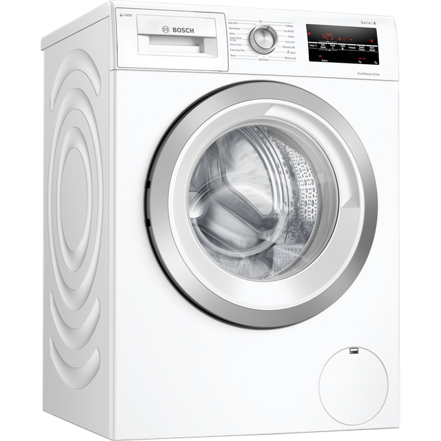 Bosch Serie 6 i-Dos™ 8Kg Washing Machine - White - C Rated