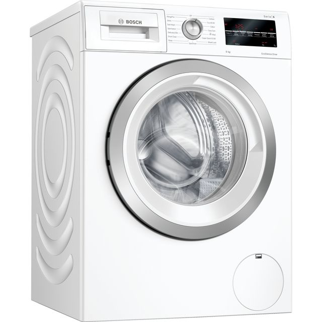 Bosch Serie 6 WAU28T64GB 9Kg Washing Machine - White - WAU28T64GB_WH - 1