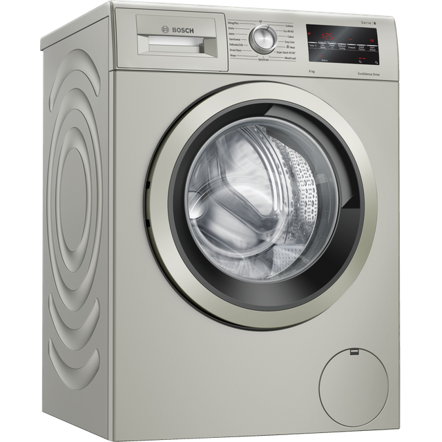 Bosch Serie 6 WAU28TS1GB 9Kg Washing Machine - Silver - WAU28TS1GB_SI - 1