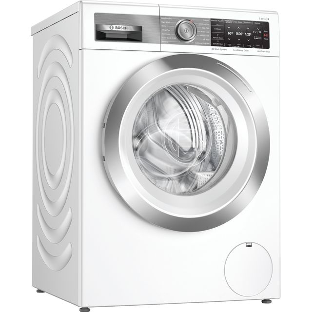 Bosch Serie 8 WAX32GH1GB Wifi Connected 10Kg Washing Machine with 1600 rpm - White - A+++ Rated - WAX32GH1GB_WH - 1