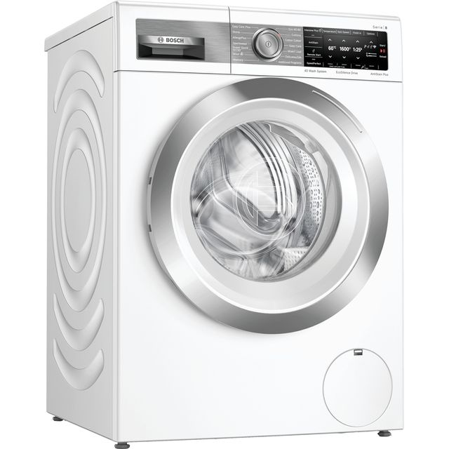 Bosch Serie 8 WAX32GH4GB 10Kg Washing Machine - White - WAX32GH4GB_WH - 1