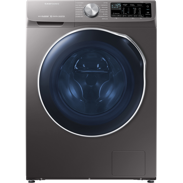 Samsung ecobubble™ WD10N645RAX Wifi Connected 10Kg / 6Kg Washer Dryer with 1400 rpm - Graphite - WD10N645RAX_GH - 1