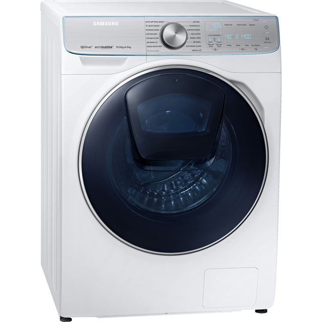 Samsung QuickDrive™ WD10N84GNOA 10Kg / 6Kg Washer Dryer - White - WD10N84GNOA_WH - 4