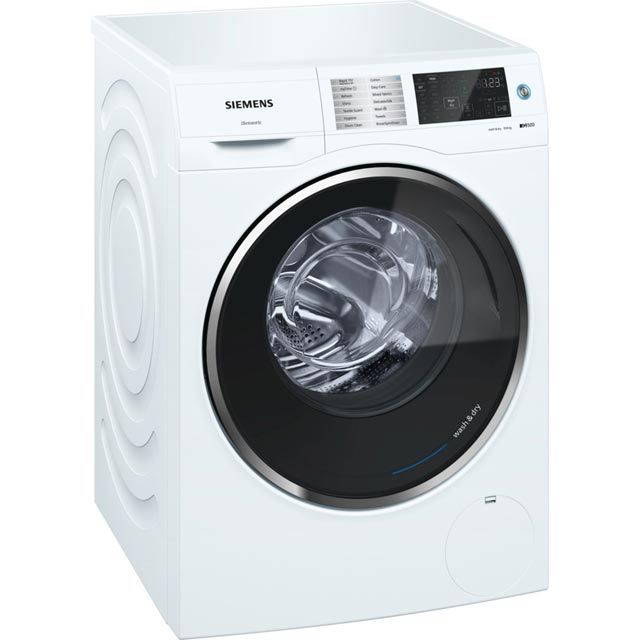 Siemens IQ-500 WD14U520GB 10Kg / 6Kg Washer Dryer with 1400 rpm - White - A Rated