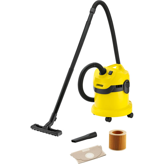 Karcher WD2 Wet & Dry Cylinder Vacuum Cleaner