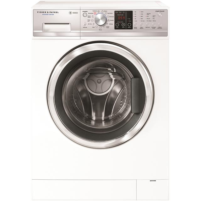Fisher & Paykel Wash Smart WD8060P1 7Kg / 4Kg Washer Dryer with 1400 rpm - White - A Rated - WD8060P1_WH - 1