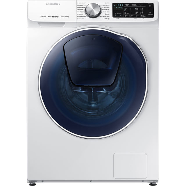 Samsung QuickDrive™ 8Kg / 5Kg Washer Dryer - White - A Rated