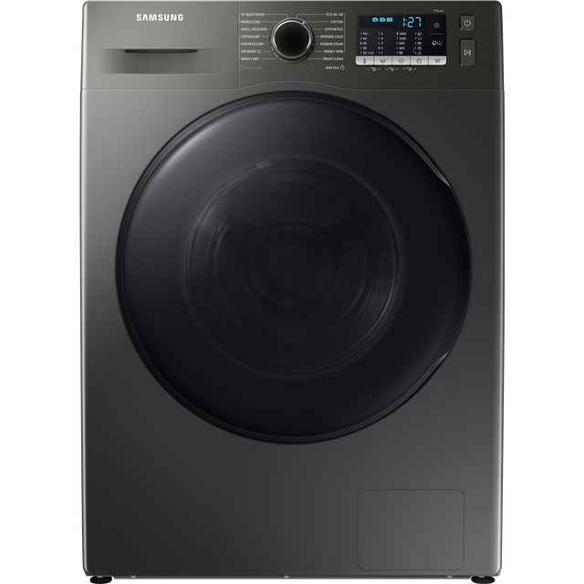 Samsung Series 5 ecobubble™ WD90TA046BX 9Kg / 6Kg Washer Dryer - Graphite - WD90TA046BX_GH - 1