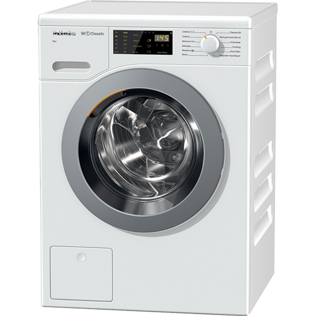 Miele W1 WDB004 7Kg Washing Machine with 1400 rpm - White - A+++ Rated - WDB004_WH - 1